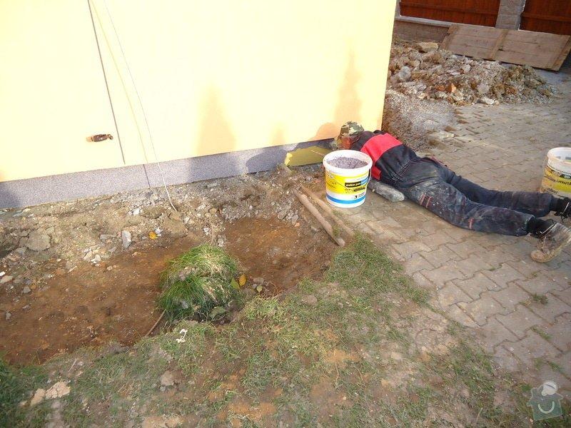 Přístavba RD , Oprava terasy, Fasáda: DSC05920
