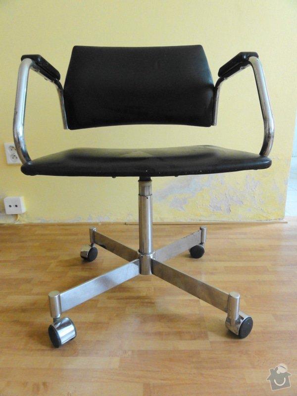 Čalounění židle: m_zidle_1_