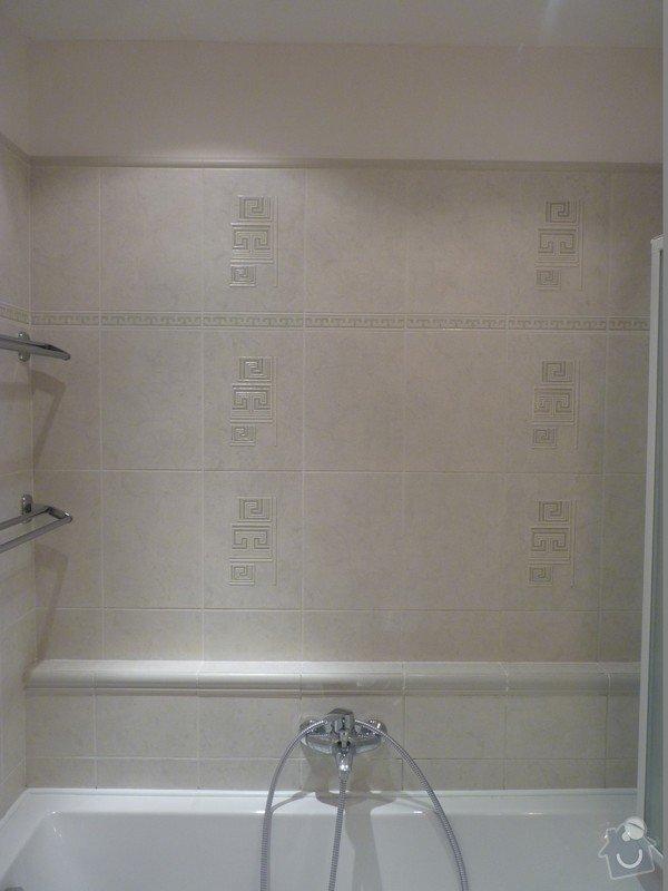 Přespárování obkladů v koupelně, přetěsnění vany: P1020882_Large_