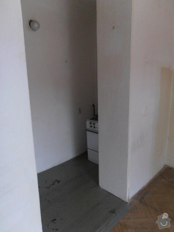 Kompletní rekonstrukce bytu - garsonka 33m2: P1290614