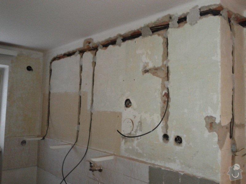 Zednické práce, obklad kuchyně, vytvoření sádrokartonových podhledů: IMG_20130510_181737
