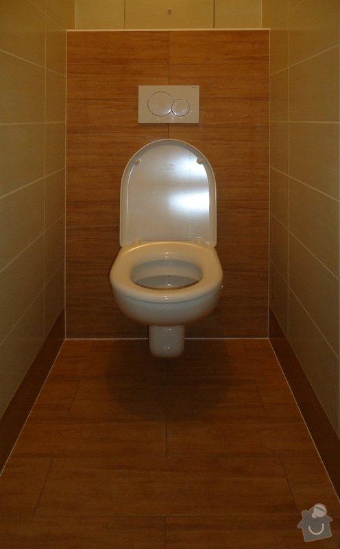 Rekonstrukce zděného WC: 01