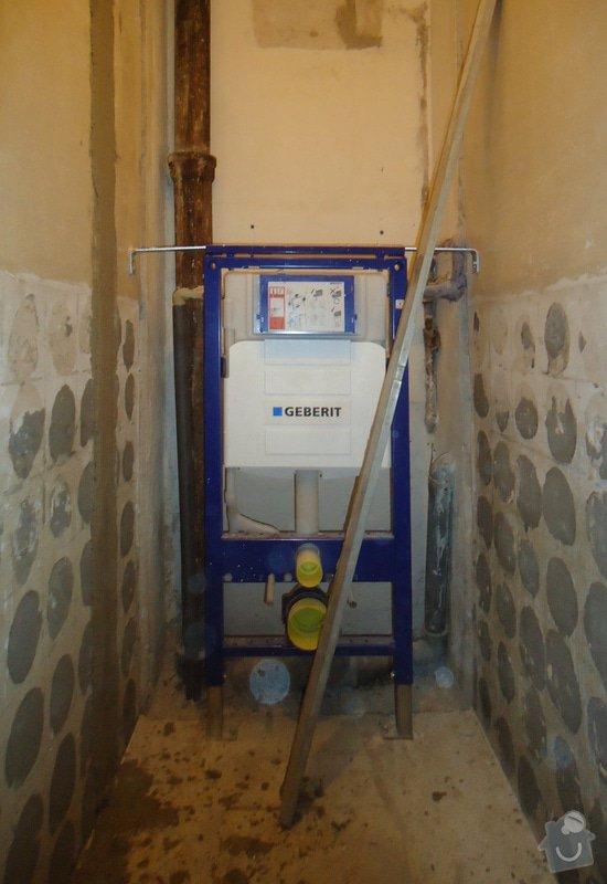 Rekonstrukce zděného WC: 02