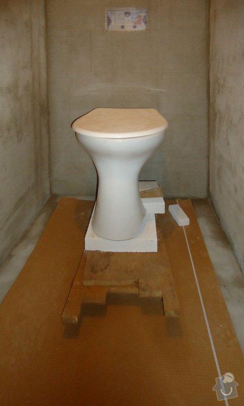 Rekonstrukce zděného WC: 03