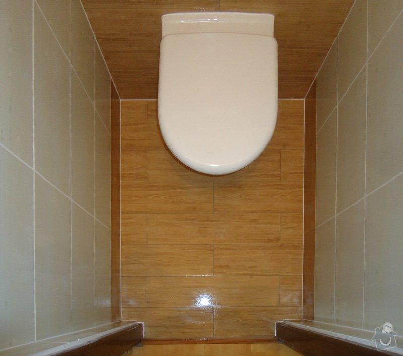 Rekonstrukce zděného WC: 04
