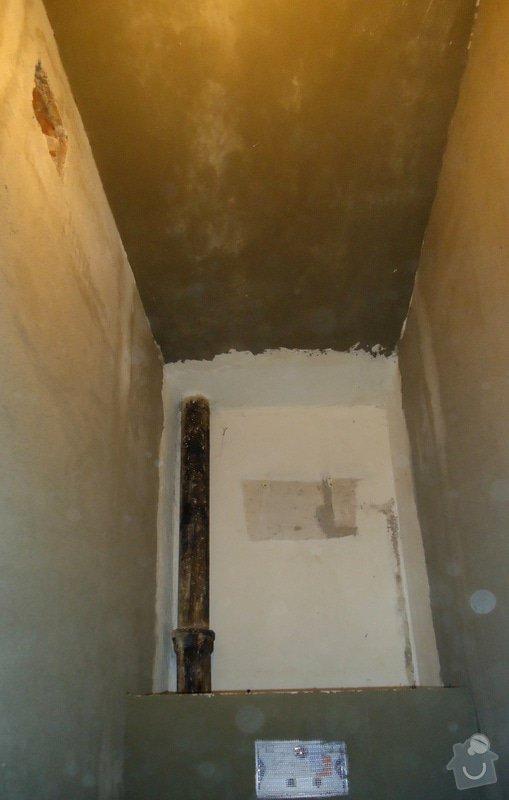 Rekonstrukce zděného WC: 05