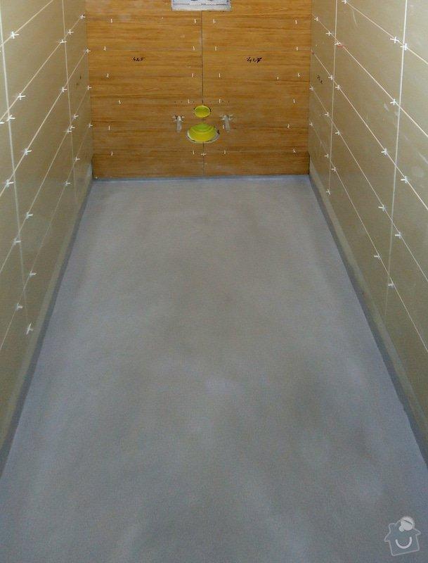 Rekonstrukce zděného WC: 07