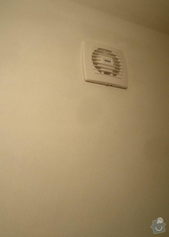 Rekonstrukce zděného WC: 08