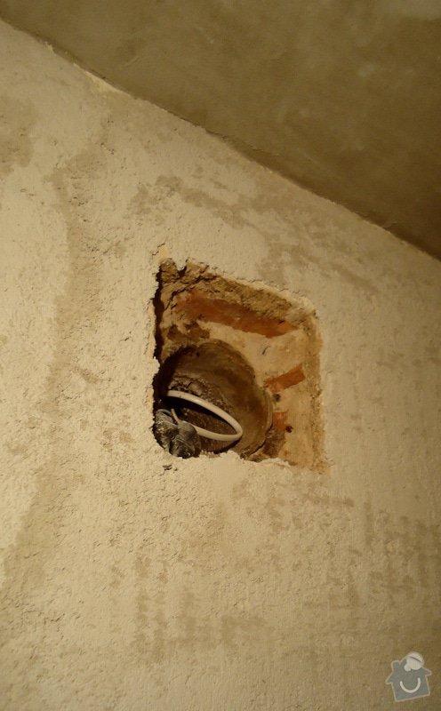 Rekonstrukce zděného WC: 09