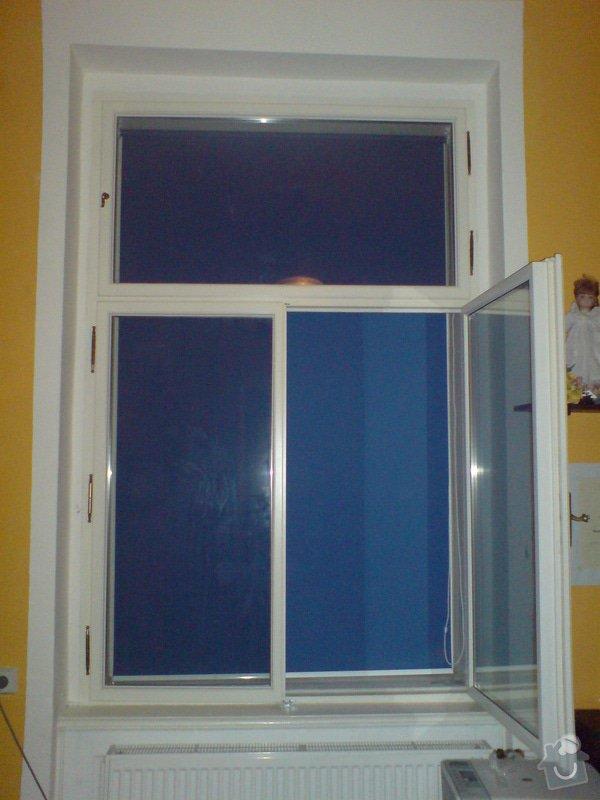 Výroba a montáž rolet mezi okna: DSC05143