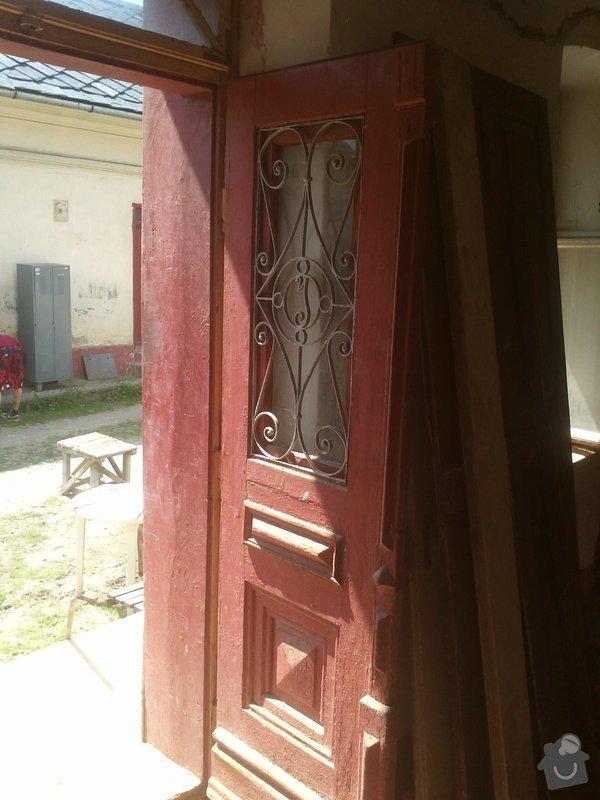 Výroba dveří : IMG342