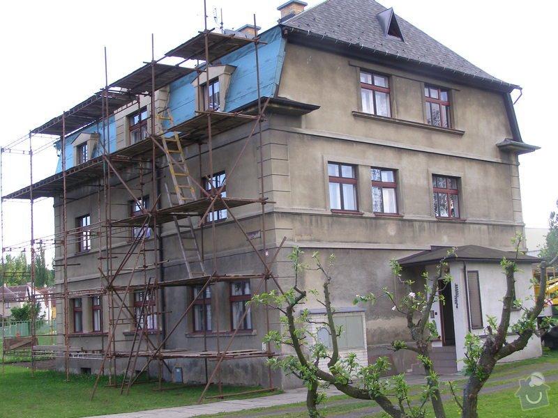 Fasádu bytového domu: P5186023