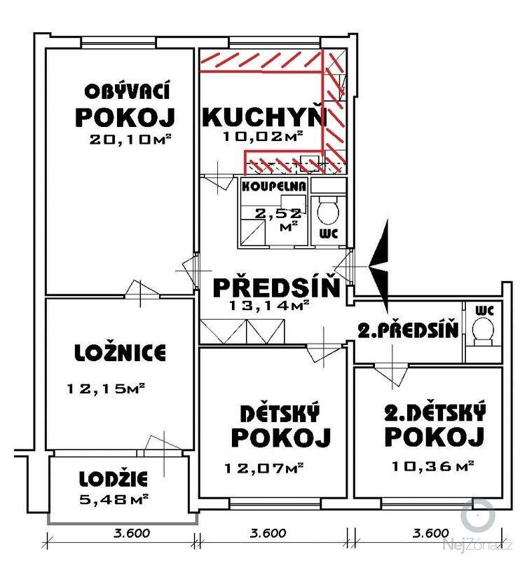 Kuchyňská linka: 2856plan_-_Kuchynska_linka