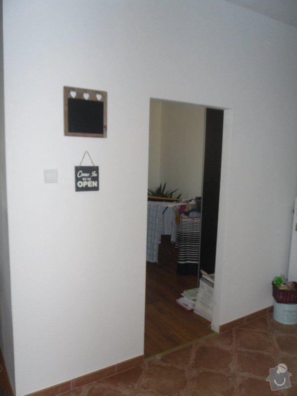 Posunutí dvěřního otvoru v sadrokartonové stěně: Soucasny_stav
