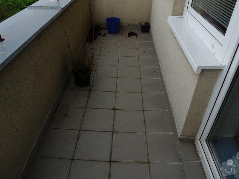Oprava izolace terasy/balkonu : terasa