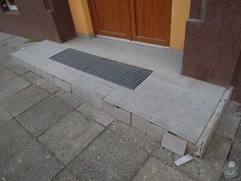 Renovace podest u domu : podesta1