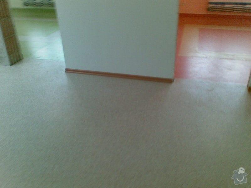 Podlahářské práce: PVC_marmoleum