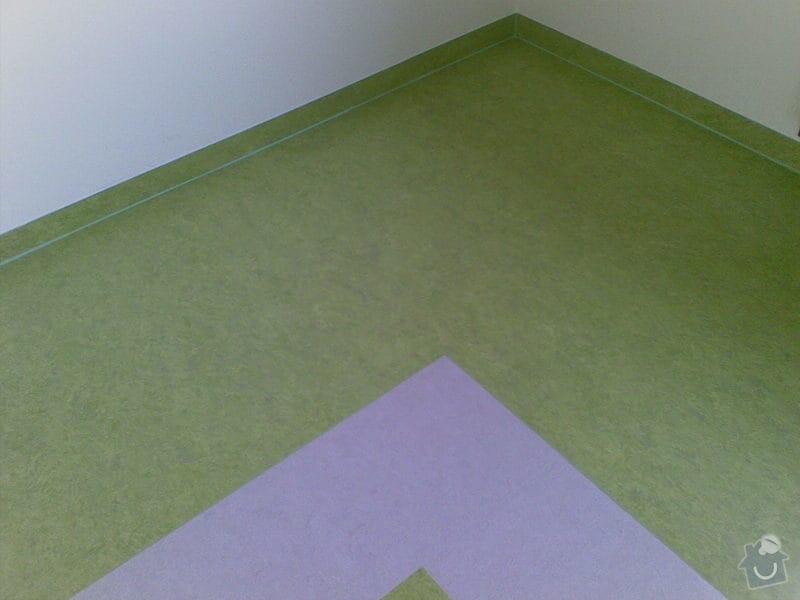 Podlahářské práce: marmoleum