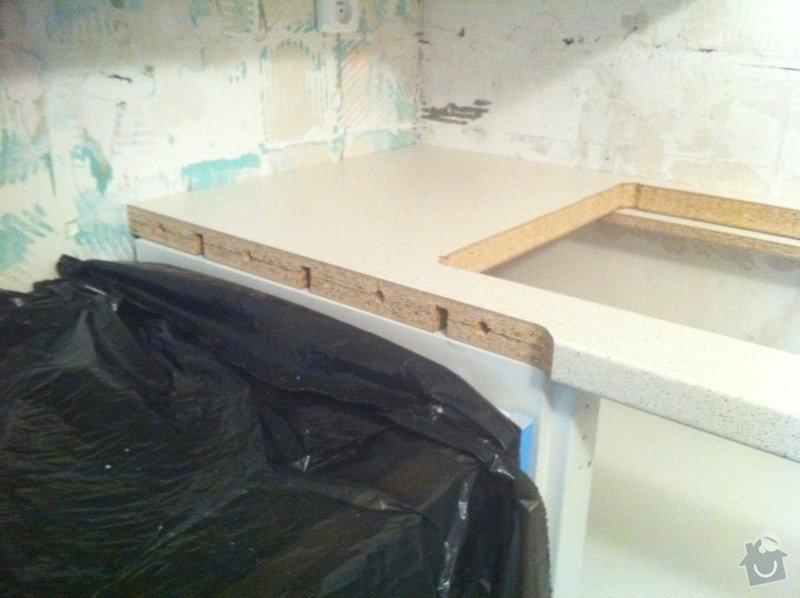 Instalace kuchyňské pracovní desky: obrazek_2