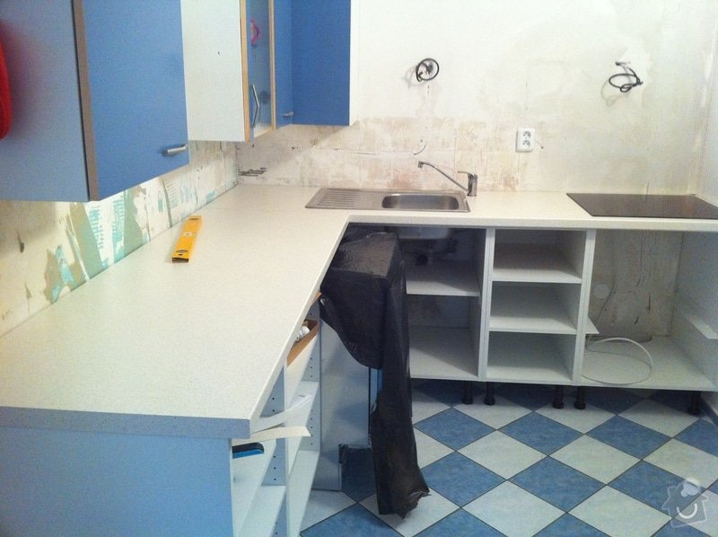 Instalace kuchyňské pracovní desky: obrazek_3