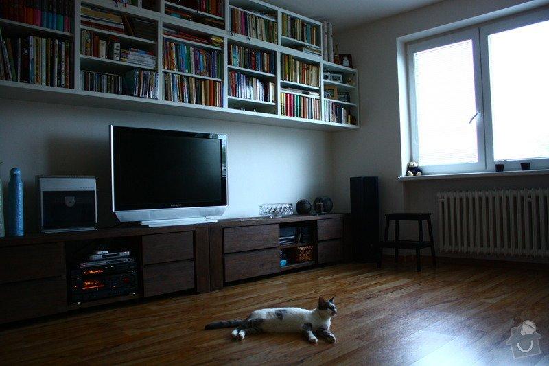 Kompletní rekonstrukce bytu: Obyvak_-_po