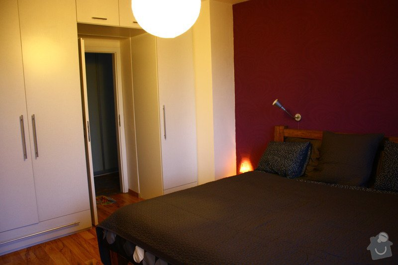 Kompletní rekonstrukce bytu: Lozcnice_-_tapety