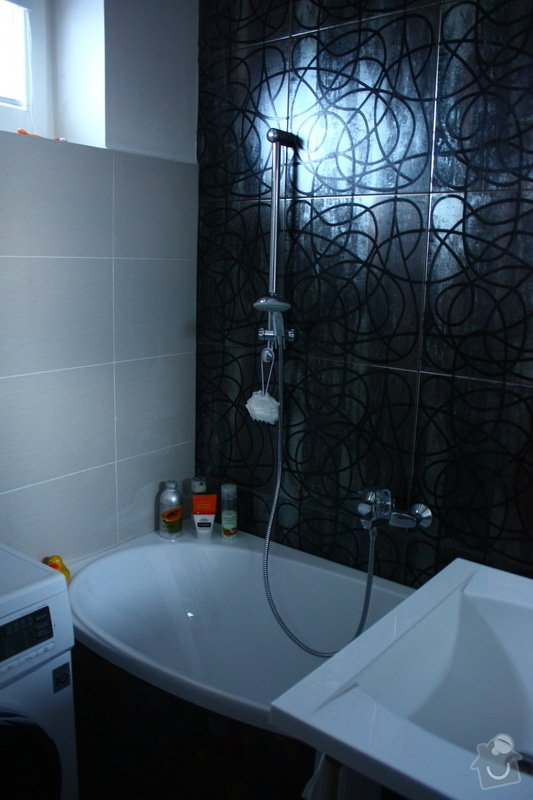 Kompletní rekonstrukce bytu: Koupelna_-_po_-_obklady