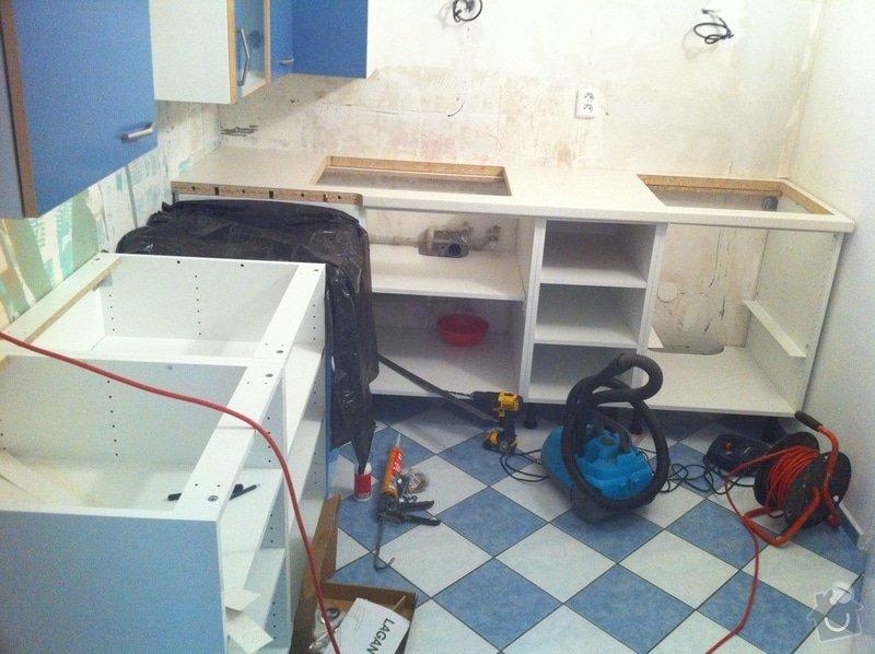 Instalace kuchyňské pracovní desky: obrazek_5