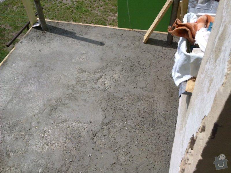 Rekonstrukce balkonu a fasády: 06012010022