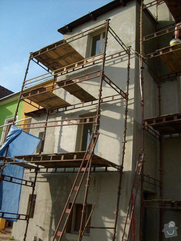 Rekonstrukce balkonu a fasády: S6301733