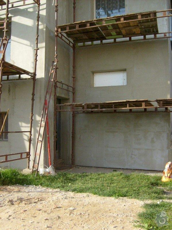 Rekonstrukce balkonu a fasády: S6301736