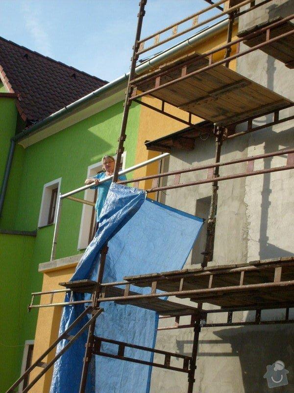 Rekonstrukce balkonu a fasády: S6301740