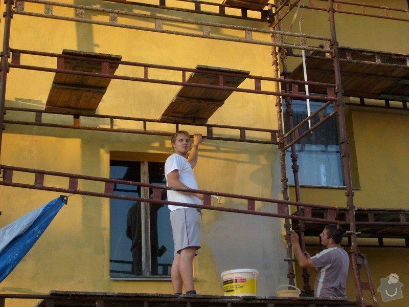 Rekonstrukce balkonu a fasády: S6301755