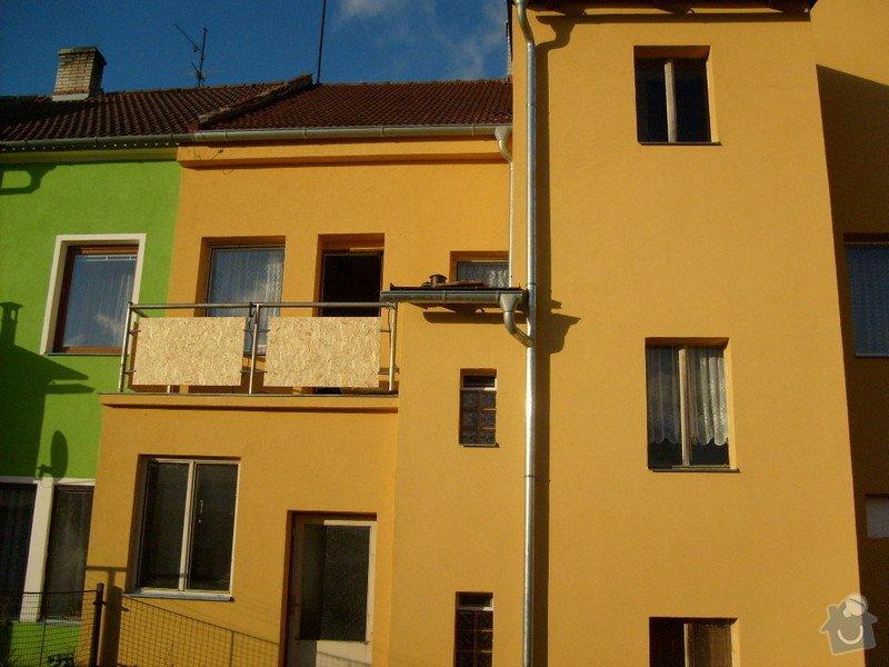 Rekonstrukce balkonu a fasády: S6301810