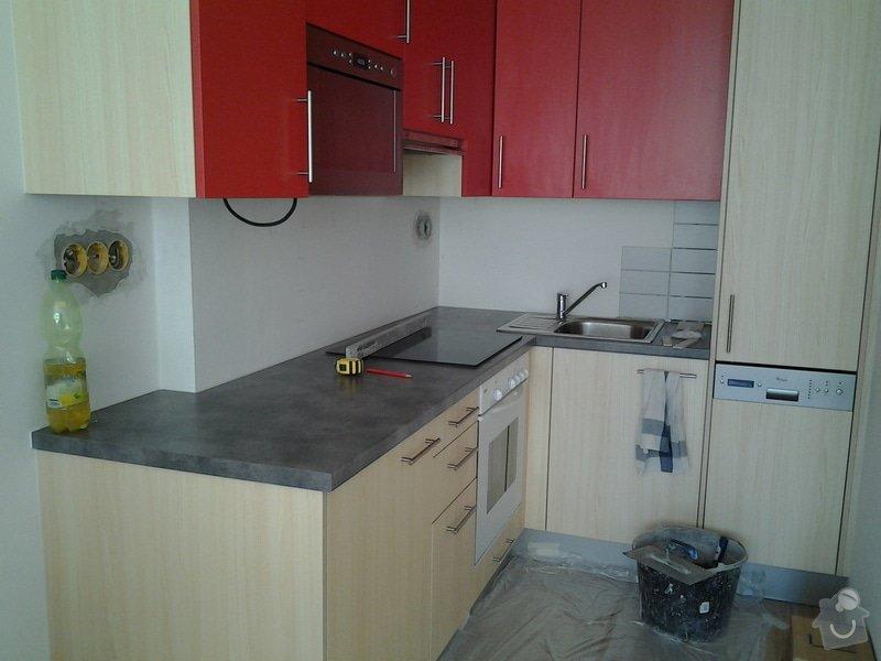 Obklad kuchyňské linky - plocha do 3 m2: kuchyn
