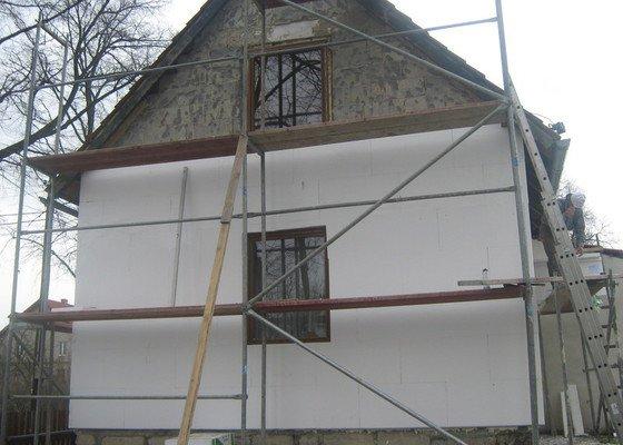 Zateplení a nová fasáda na RD