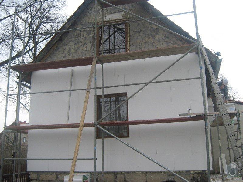 Zateplení a nová fasáda na RD: Fotografie02
