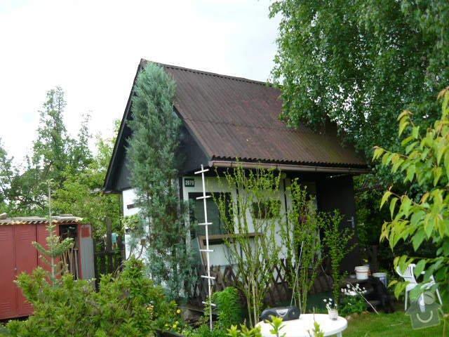 Výměna krytiny na zahradní chatce: P1010567
