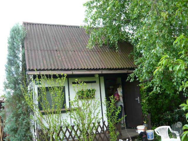 Výměna krytiny na zahradní chatce: P1010568