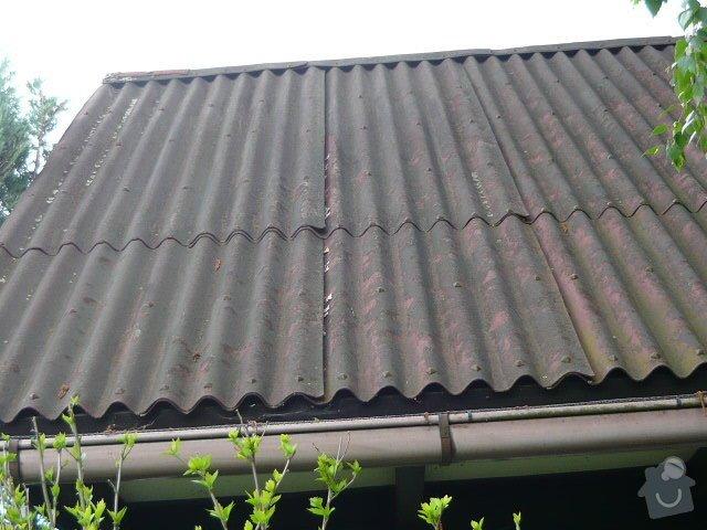 Výměna krytiny na zahradní chatce: P1010569