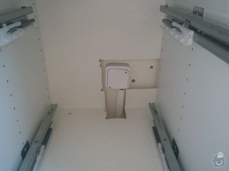 Elektroinstalace v bytě (bytový rozvadeč + připojení kuchyňských spotřebičů): kabelova_vyvodka_kuchyn