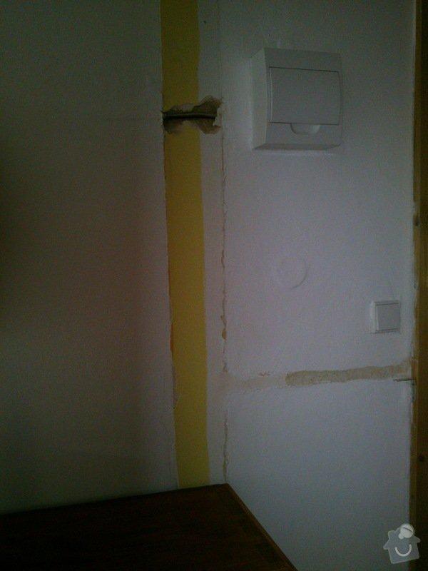 Oprava zdi po instalatérské práci: DSC_0029