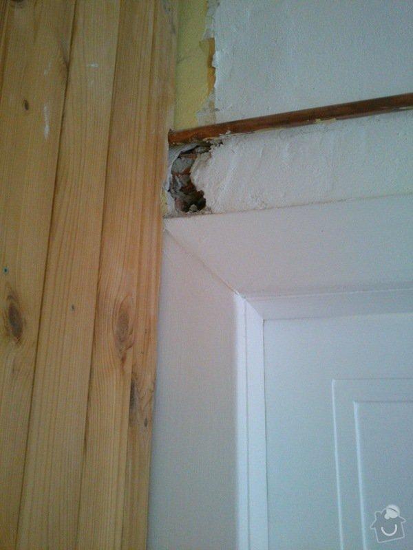 Oprava zdi po instalatérské práci: DSC_0035