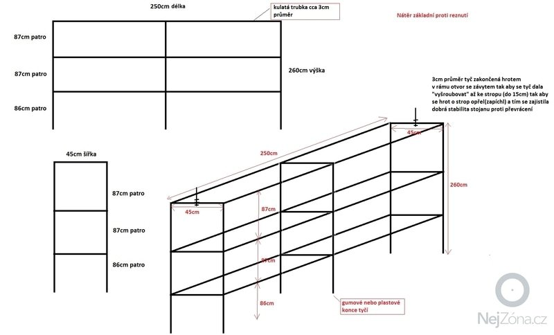 Výroba železných stojanů: stojan_new