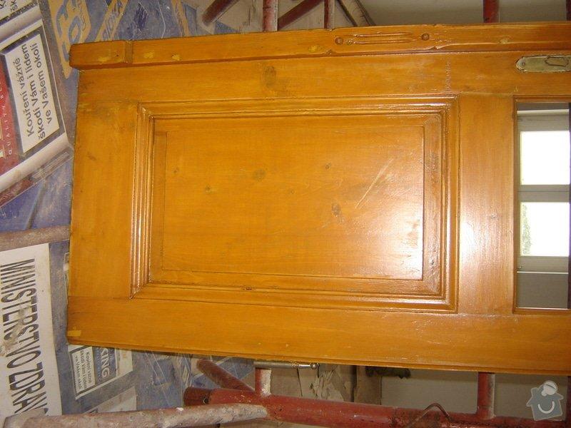 Výroba dveří a zárubní: DSC04164