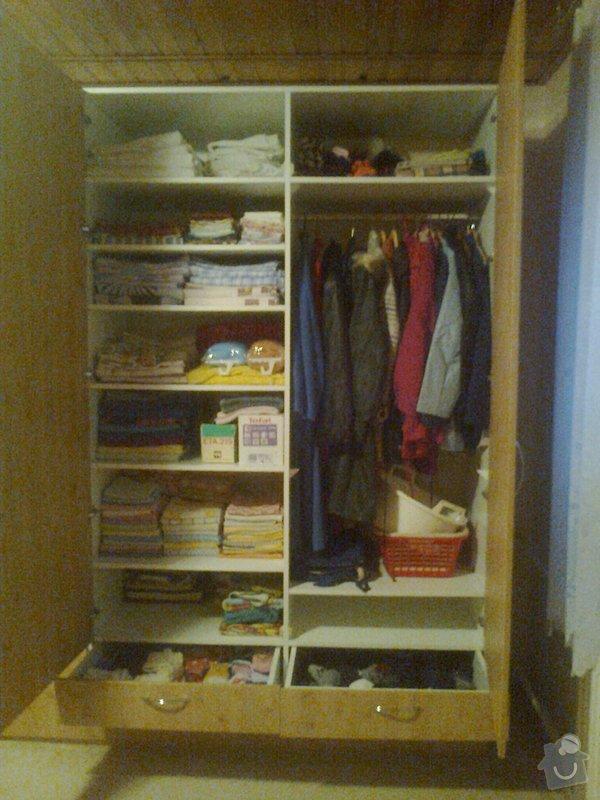 Ložnicové skříně: Fotografie0031