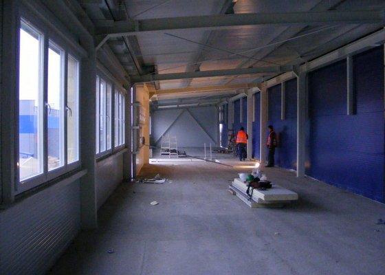 Montáž protipožárních sádrokartonu,minerální podhledy
