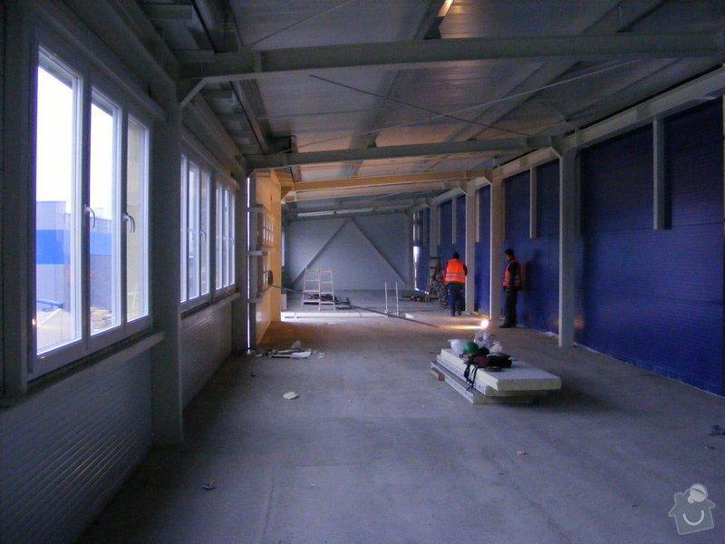 Montáž protipožárních sádrokartonu,minerální podhledy: Snimek_208