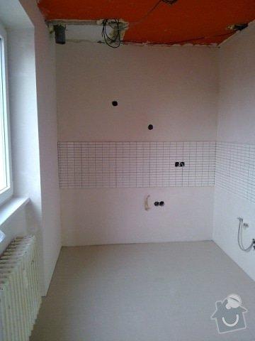 Rekonstrukce koupelny, předsíně, kuchyně: K9