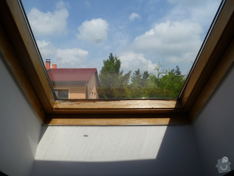 Natreni stresnich oken Velux: P1040223